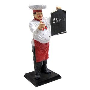 ER004 Cocinero tres dimensiones alto 140 cm