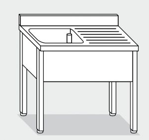 LT1059 lavado de patas de acero inoxidable