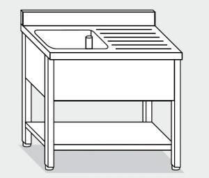 LT1152 Lavar las piernas con plataforma de acero inoxidable