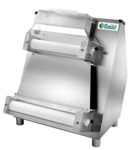 FIP42N Maquina extendora de masa para pizza con dos pares de rodillos paralelos 42 cm
