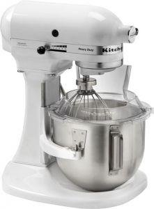 K5 KitchenAid Heavy Duty Planetary pasta maker white color