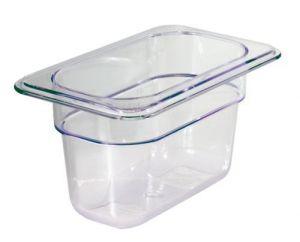 GST1/9P065P Gastronorm Container 1 / 9 h65 polycarbonate