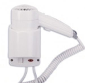 T704002 Wall mounted hair dryer side