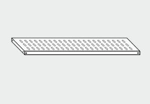 EU78063-14 ripiano forato per scaffale ECO cm 140x30x4h