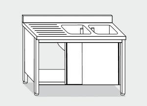 LT1049 Laver Cabinet sur l'acier inoxydable