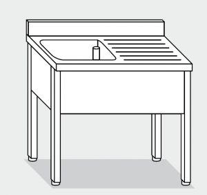 LT1060 Laver sur les jambes en acier inoxydable