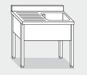 LT1064 lavado de patas de acero inoxidable