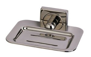 T105117 AISI 304 Polished stainless steel soap holder