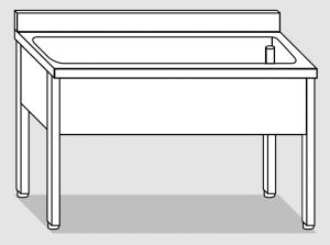 LT1114 dishwasher on stainless steel legs