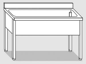 LT1115 dishwasher on stainless steel legs