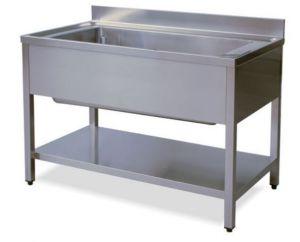 LT1145 Lavar las piernas con plataforma de acero inoxidable