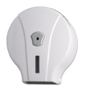 T908001 200 meters toilet paper roll dispenser white ABS