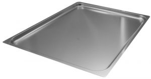 FNC2/1P020 Gastronorm 2 / 1 h20 AISI 304 stainless steel flat edge
