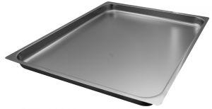 FNC2/1P040 Teglia  Gastronorm 2/1 h40 in acciaio inox AISI 304 bordo piano