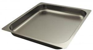 FNC2/3P065 Gastronorm 2 / 3 H65 AISI 304 pointe en acier inoxydable plat