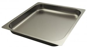 FNC2/3P065 Gastronorm 2 / 3 h65 AISI 304 stainless steel flat edge