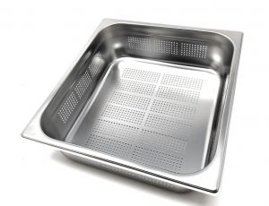 GST2/3P100F Gastronorm Container 2 / 3 h100 perforated stainless steel AISI 304