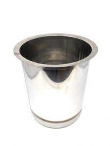 VGPZ12 Pozzetto in acciaio inox AISI 304 per 1 carapina