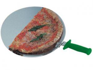 AV4905 Palette ronde professionnelle pour pizzas en acier inox Ø50