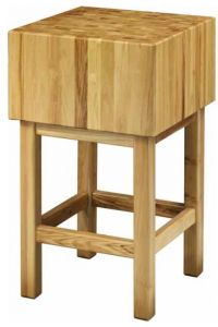 CCL3566 Bloque de madera de 35 cm con taburete 60x60x90h