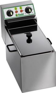 FR8 Friggitrice elettrica monofase 3 kW 1 vasca 8 litri