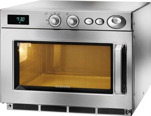 CM1519A Samsung microwave oven in stainless steel 2,9 kW manual 26 liters