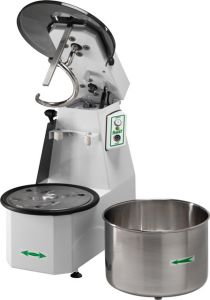 18CNST Spiral kneader Liftable head 18 kg cicle dough 22 liters removable tank - Three Phase