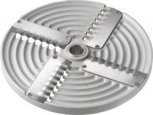 4PZ5 4blades corrugated disk 5mm for Mozzarella shredding cutter TAS