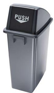 T114210 Conteneurs recyclage Couvercle push
