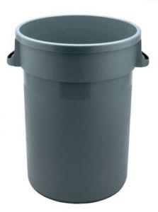 T114105 Secchio gettacarte 80 litri in polipropilene