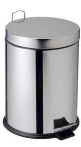 T906712 AISI 304 stainless steel pedal bin 14 liters