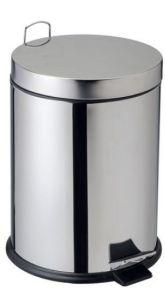 T906712 Poubelle à pédale en acier inox AISI 304 14 litres