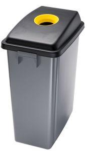 T114206 Conteneurs recyclage Couvercle con ouverture haut