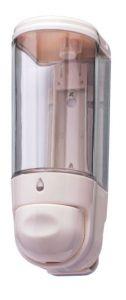 T110550 Mini liquid soap dispenser 0,3 lt White ABS