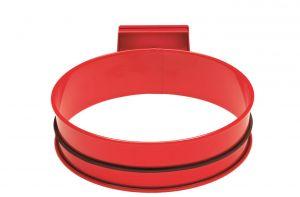 T601005 Soporte para bolsas de basura de acero Rojo