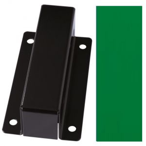 T601008 Wall mounted support Green steel