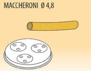 MPFTMA4-15 Trafila MACCHERONI Ø 4,8 per macchina per pasta fresca