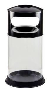 T774001 Transparent fireproof ashbin 110 liters