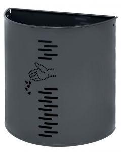 T778051 Waste paper in gray steel external 20 liters