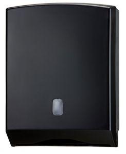 T104226 Distributore di carta asciugamani ABS nero 500 fogli