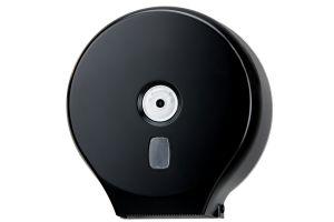 T104201 Roll toilet paper dispenser black abs 200 m