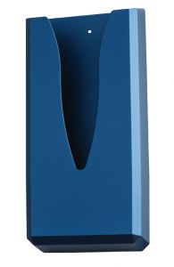 T130018 Sanitary towel bag dispenser blue ABS soft-touch