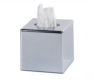 T130021 Tissues dispenser white ABS square