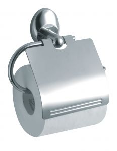 T105209 AISI 304 brushed stainless steel Toilet paper holder for single roll