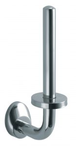 T105212 Polished AISI 304 Stainless steel Toilet paper holder for single roll