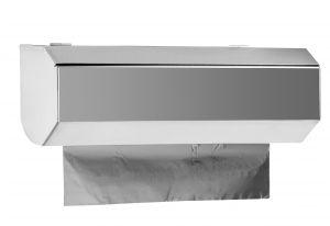 T105400 Dispensador mural para rollo de aluminio o película transparente inox AISI 304 MINI