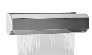 T105401 Dispensador mural para rollo de aluminio o película transparente inox AISI 304 MAXI