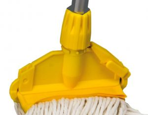T705023 Yellow plastic Gripper clamp for mop (Pack of 5 pieces)