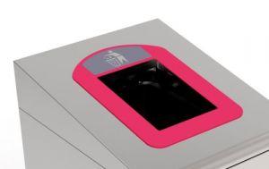 T789037 Cornice rossa per Contenitore Gettacarte per la raccolta differenziata T789020-T789050