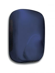 T704395 Mini automatic hand dryer blue ABS soft-touch